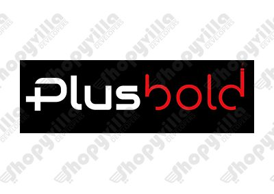 Plusbold logo
