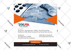 Tax USA Banner